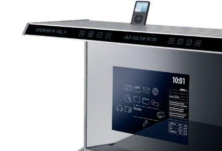 Obsługa funkcji zestawu SieMatic S1 odbywa się za pomocą ekranu dotykowego i panelu SmartBoard /HeiseOnline