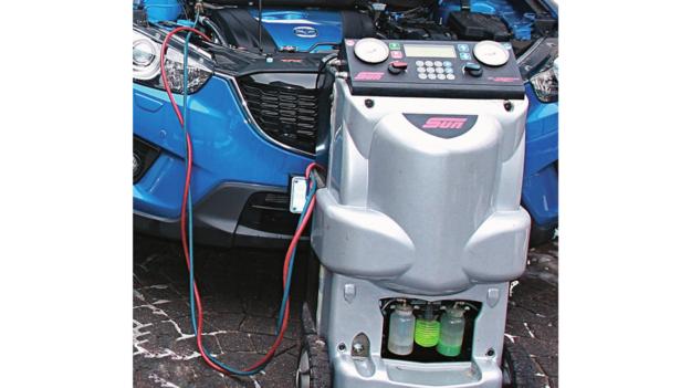 obsługa klimatyzacji /Motor