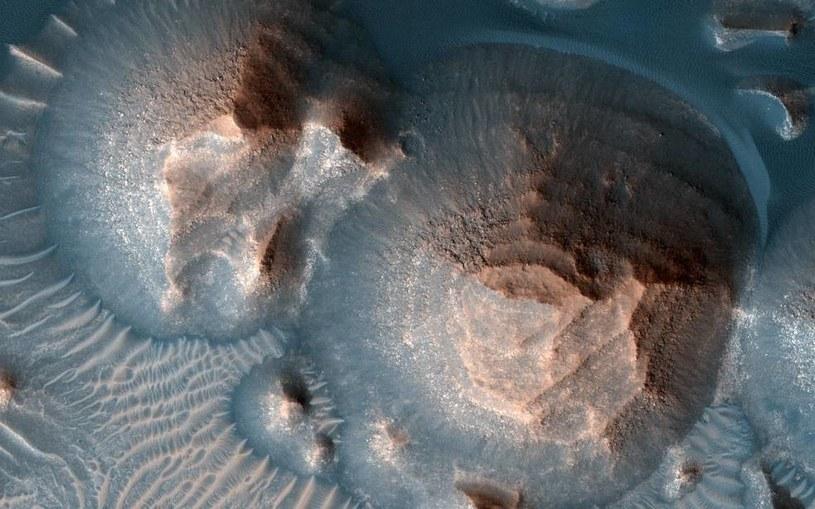 Obszar obejmujący Arabia Terra /NASA