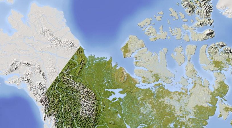 Obszar północnej Kanady i Alaska /123RF/PICSEL