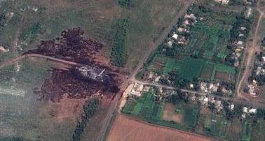 OBWE: Na miejscu katastrofy boeinga wciąż są ludzkie szczątki