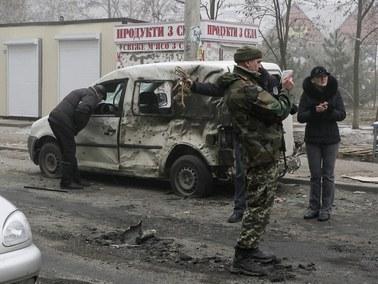 OBWE: Rakiety wystrzelono z obszarów kontrolowanych przez separatystów