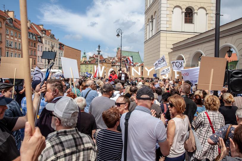 Obywatelskie Zgromadzenie Narodowe /Grzegorz Banaszak /Reporter