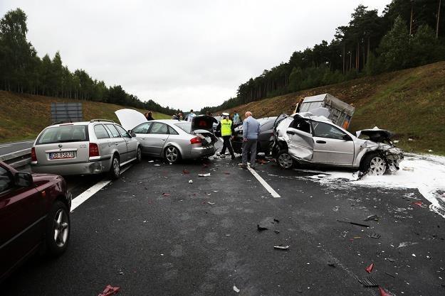 OC nie działa gdy szkody są bardzo duże / Fot: Piotr Jedzura /Reporter