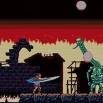 Ocal świat przed ciemnością w grze platformowej fantasy Odallus: The Dark Call
