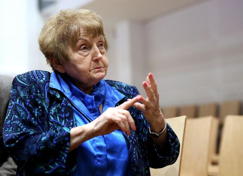 Ocalona z Holokaustu Eva Mozes Kor /Ronny Hartmann / AFP /East News