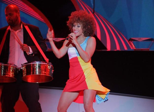 Oceana wystąpiła w Kijowie podczas losowania grup Euro 2012 /East News