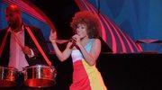 Oceana z piosenką na Euro 2012