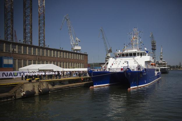 Oceanograf, zdjęcie z serwisu prasowego Uniwersytetu Gdańskiego. Fot. Krzysztof Mystkowski/KFP/UG /&nbsp