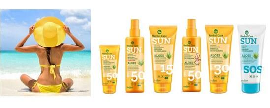 Ochrona przeciwsłoneczna z Herbal Care SUN /INTERIA.PL/materiały prasowe