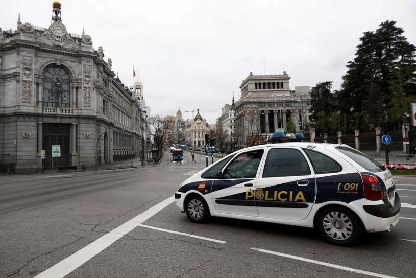Ochronić rząd i szpitale przed cyberatakami podczas pandemii - to cel akcji, jaką prowadzą hiszpańskie służby specjalne. /MARISCAL /PAP/EPA