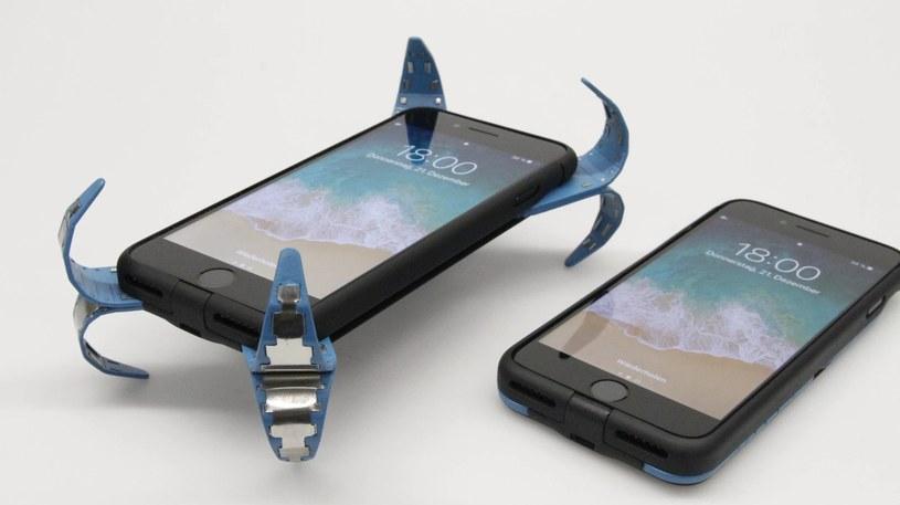 """Ochronne etui na smartfona z funkcją """"poduszki powietrznej"""" /materiały prasowe"""
