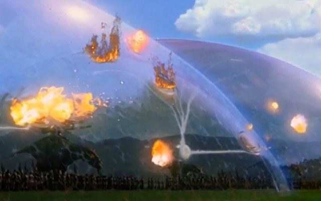 Ochronne pole siłowe to idea, która znana była dotychczas głównie z filmów science fiction. /YouTube