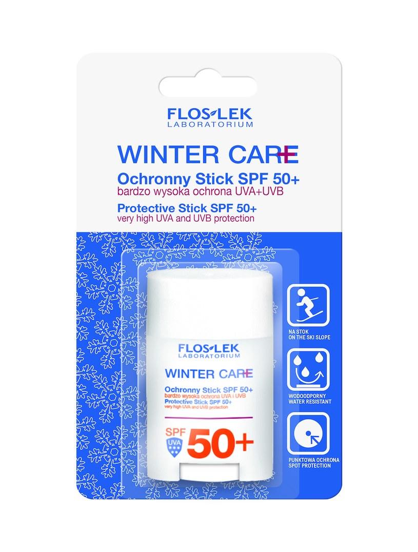 Ochronny Stick SPF 50+ marki FLOSLEK Laboratorium /INTERIA.PL/materiały prasowe