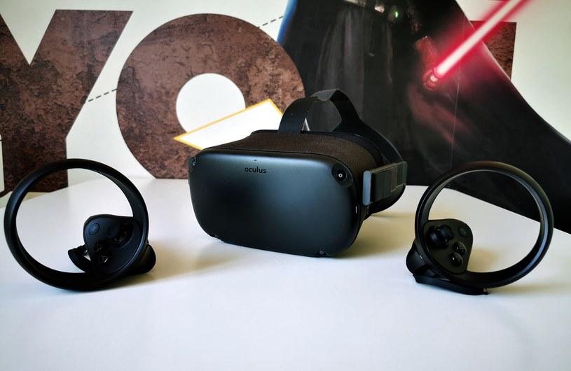 Oculus Quest i kontrolery Touch /INTERIA.PL