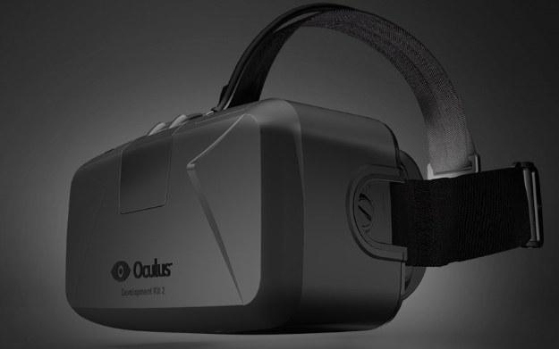 Oculus Rift - gogle do rzeczywistości wirtualnej /materiały prasowe