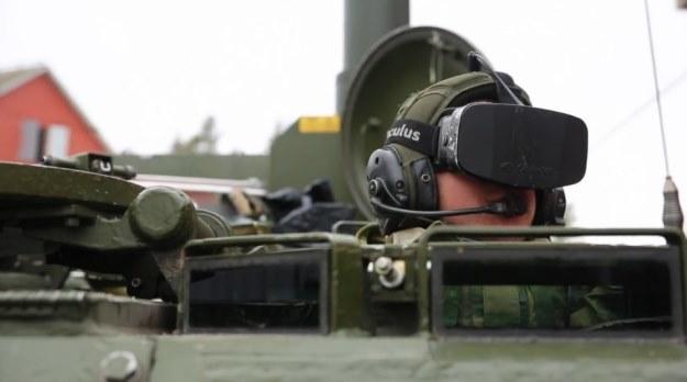 Oculus Rift w armii? Gogle VR mogą zostać kiedyś wykorzystane przez jednostki wojskowe  Kadr z materialu przygotowanego przez telewizję TuTV /Internet