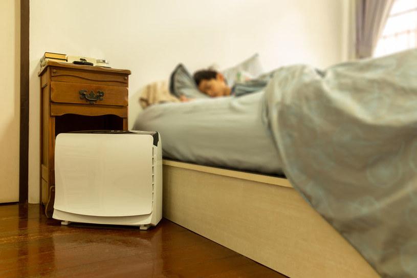 Oczyszczacz powietrza z filtrem węglowym absorbuje formaldehyd /123RF/PICSEL