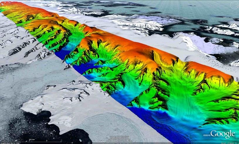 Od 1961 do 2016 roku lodowce utraciły w wyniku topienia w sumie 9,625 bilionów ton lodu /materiały prasowe