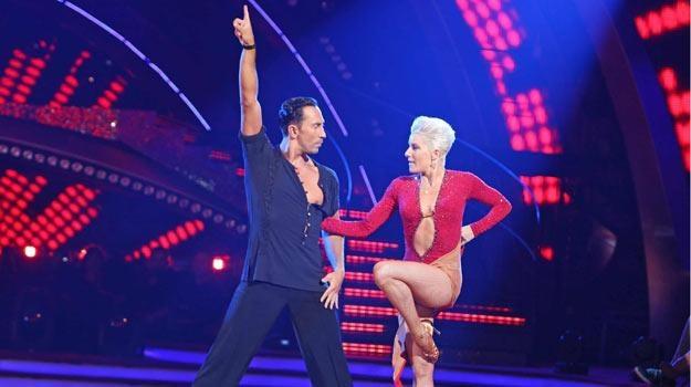 Od 2002 roku taneczną partnerką Michała Malitowskiego jest Joanna Leunis - fot. WBF /Polsat