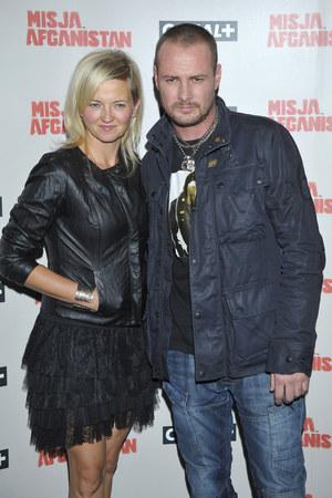 Od 2002 roku żoną aktora jest choreografka Joanna Chitruszko, którą poznał jeszcze w liceum. /fot  /AKPA