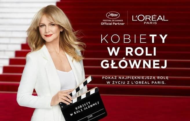 Od 2016 roku do grona Ambasadorek L'Oréal Paris dołączyła Grażyna Torbicka. /INTERIA.PL/materiały prasowe