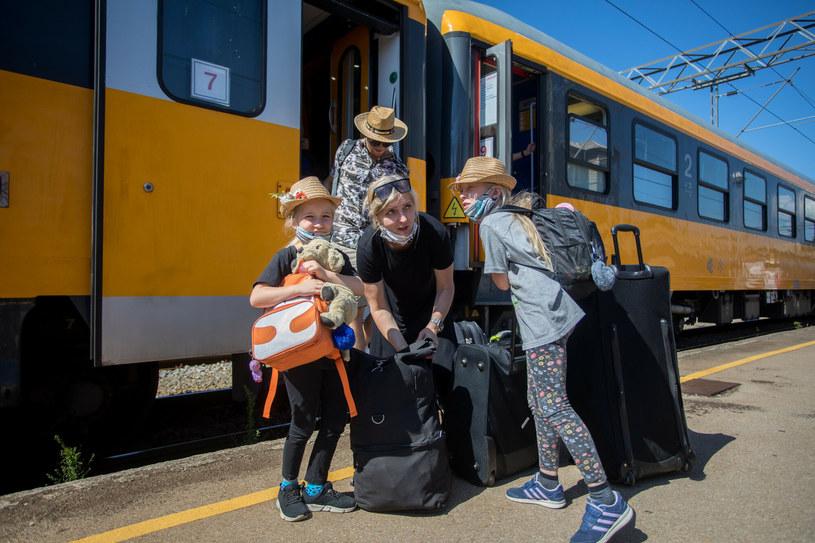 """Od 2022 roku zobaczymy w Polsce więcej """"pomarańczowych pociągów"""" RegioJet /Nel Pavletic/PIXSELL/Press Association /East News"""