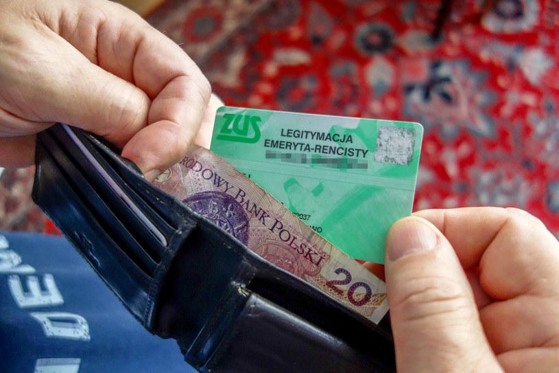 Od części emerytur nie bedą pobierane zaliczki na podatek dochodowy /Piotr Kamionka /Reporter