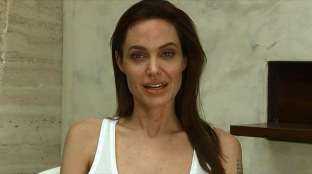 Od którego dziecka Jolie zaraziła się ospą? - fot. YouTube /
