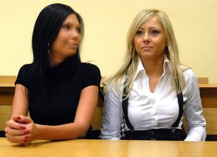 Od lewej: 26-letnia Anna K. i 28-letnia Dorota Krzysztofek. Fot. Marcin Bielecki /Agencja FORUM