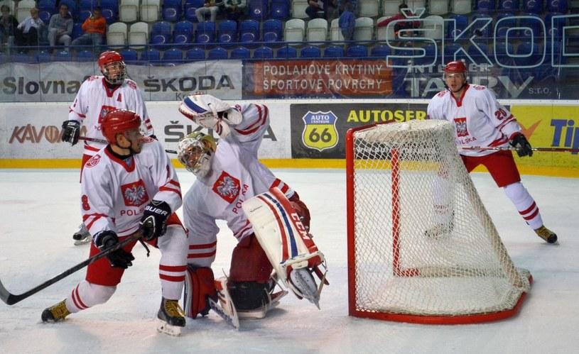 Od lewej: Adam Bagiński, Mateusz Bryk, Przemysław Odrobny i Jakub Wanacki na 66. Turnieju o Tatrzański Puchar. /INTERIA.PL