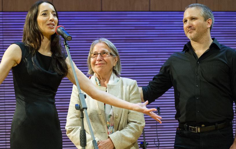 Od lewej: Agata Steczkowska, Danuta Steczkowska, Paweł Steczkowski /Tadeusz Koniarz/REPORTER /East News