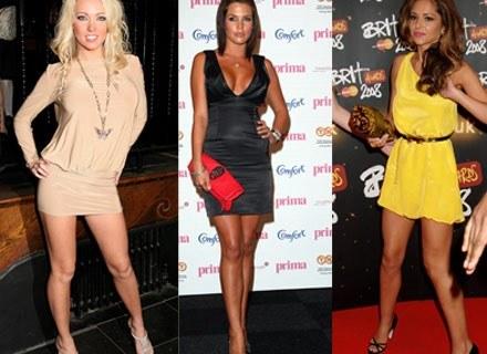 Od lewej: Aisleyne Horgan, Danielle Lloyd i Cheryl Cole /Getty Images/Flash Press Media