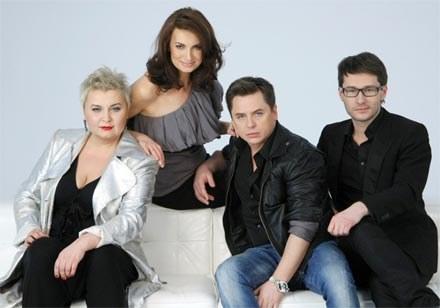 Od lewej: Anna Męczyńska, Agnieszka Maciąg, Grzegorz Bloch i Wojciech Grzybała /AKPA