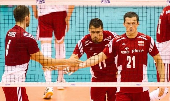 Od lewej: Bartosz Kurek, Fabian Drzyzga i Rafał Buszek /Jacek Kostrzewski /PAP