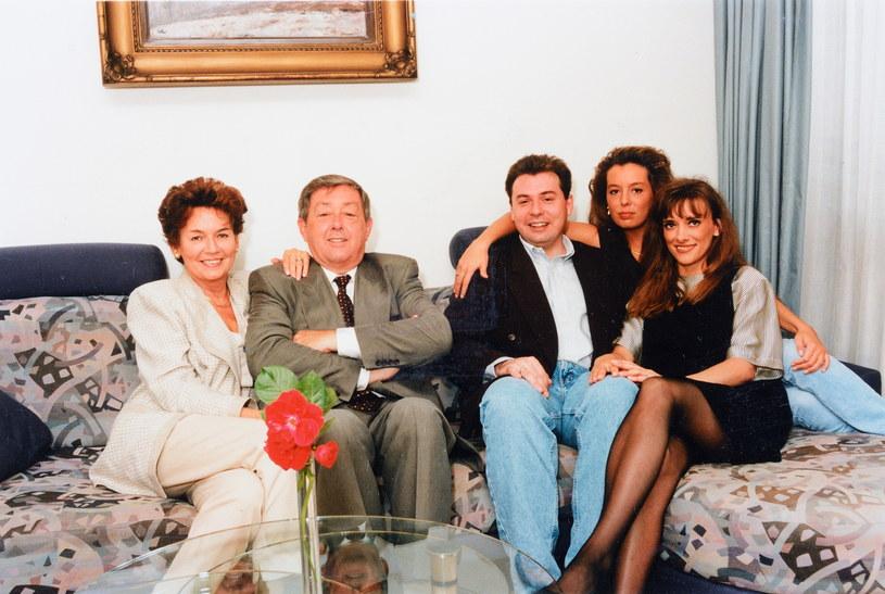 Od lewej: Bożena Walter, Mariusz Walter, Piotr Walter, Sandra Walter, Anna Walter /Marek Szymański /Agencja FORUM