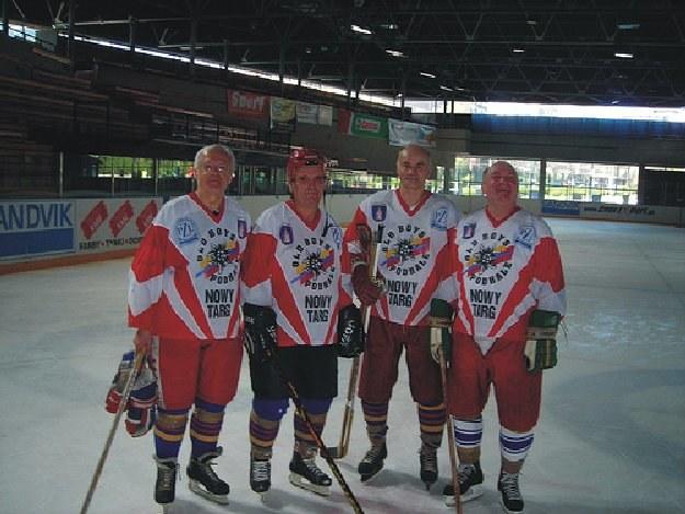 Od lewej: Czesław Borowicz, Józef Słowakiewicz, Krzysztof Białynicki i Adam Kopczyński. /Archiwum