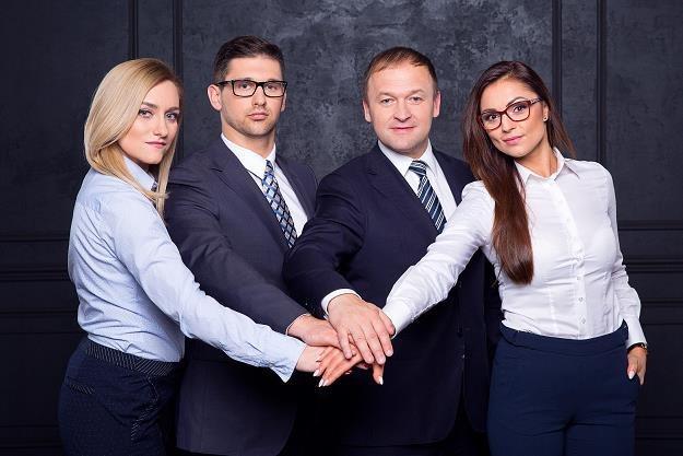 Od lewej: Edyta Zemła, Jacek Gwoździewicz, Jacek Ryński, Kamila Markiewicz /