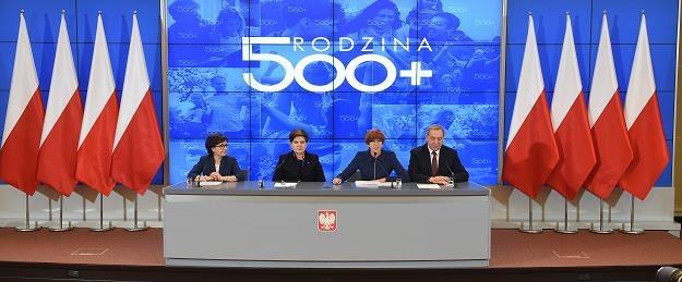 Od lewej: Elżbieta Witek, Beata Szydło, Elżbieta Rafalska, Henryk Kowalczyk /PAP