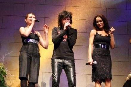 Od lewej: Ewelina Flinta, Piotr Cugowski, Justyna Steczkowska /Informacja prasowa