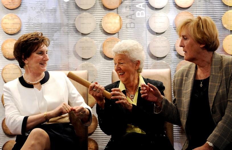 Od lewej: Irena Szewińska, Halina Górecka i Ewa Kłobukowska /Bartłomiej Zborowski /PAP