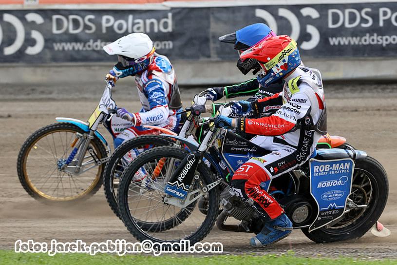 Od lewej: Jakub Jamróg, Kacper Gomólski i Tobiasz Musielak /Jarosław Pabijan /Flipper Jarosław Pabijan
