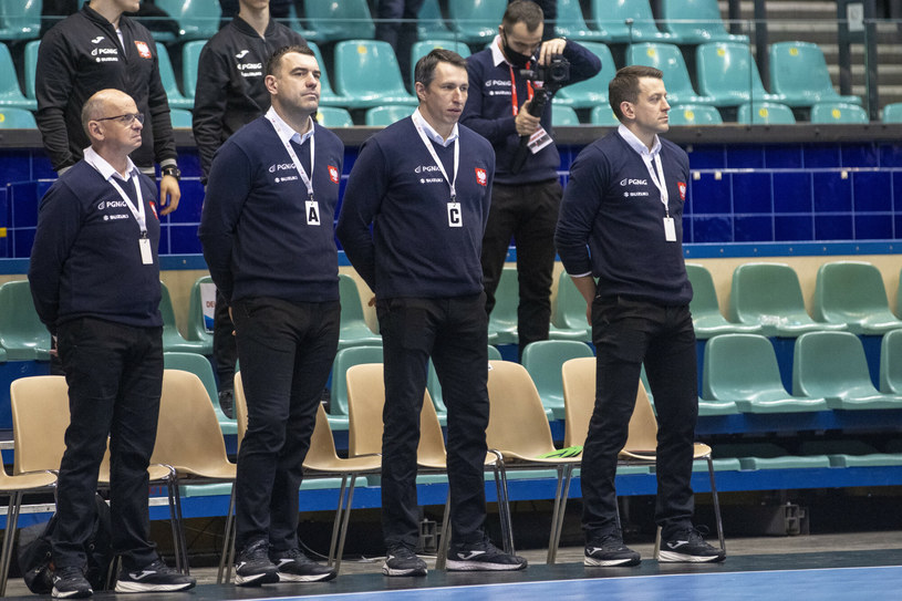 Od lewej:  Jarzy Buczak, Bartosz Jurecki, Slawomir Szmal, Patryk Rombel /Andrzej Iwańczuk /East News