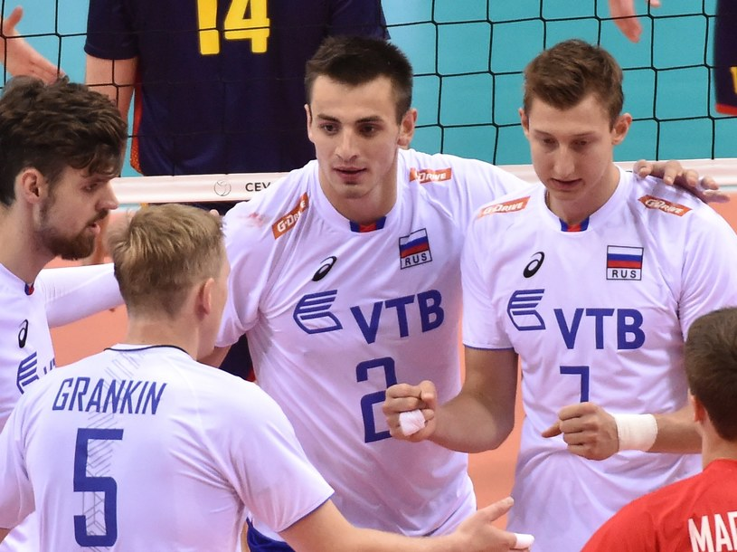 Od lewej: Jegor Kliuka, Siergiej Grankin, Ilja Własow i Dmitrij Wołkow. /Jacek Bednarczyk /PAP