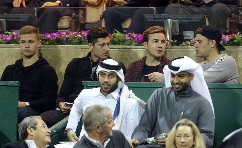 Od Lewej: Joshua Kimmich, Robert Lewandowski, Mario Gotze i Manuel Neuer /AFP