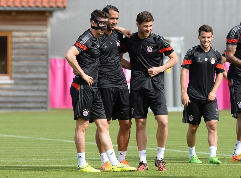Od lewej: Lewandowski, Benatia, Alonso, Bernat /AFP