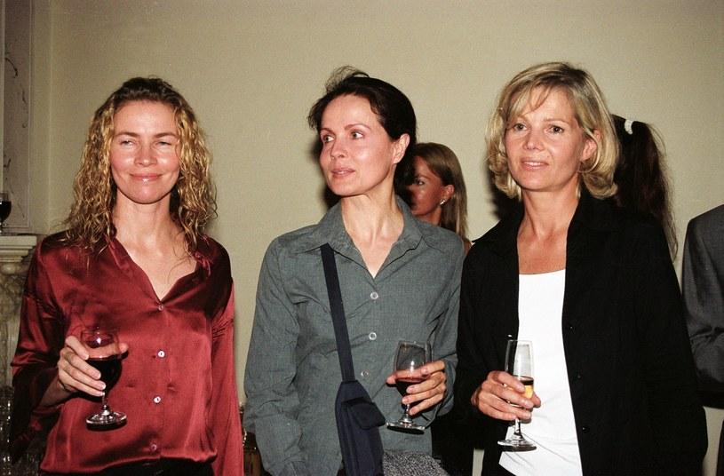 Od lewej: Lidia Popiel, Małgorzata Niemen i Katarzyna Butowtt, rok 2002 /Tricolors /East News