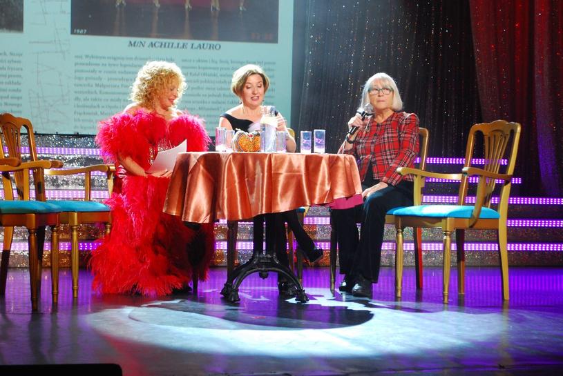 Od lewej: Małgorzata Potocka, Agnieszka L. Janas, Grażyna Hase /Andrzej Palacz /Styl.pl/materiały prasowe