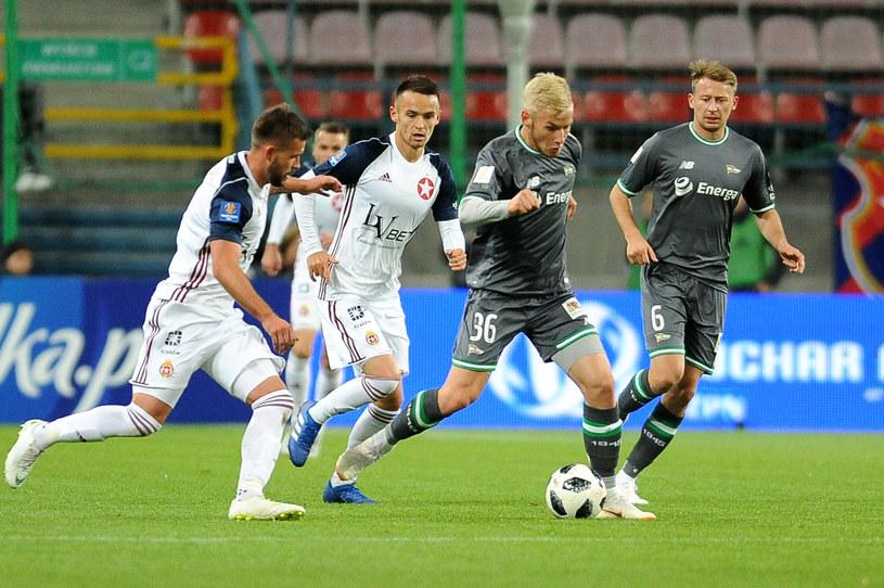 Od lewej: Rafal Pietrzak, Dawid Kort, Tomasz Makowski i Jaroslaw Kubicki /Krzysztof Porębski /Newspix