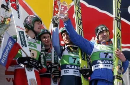 Od lewej: Rosliakow, Korniłow, Karelin, Wasiliew /AFP